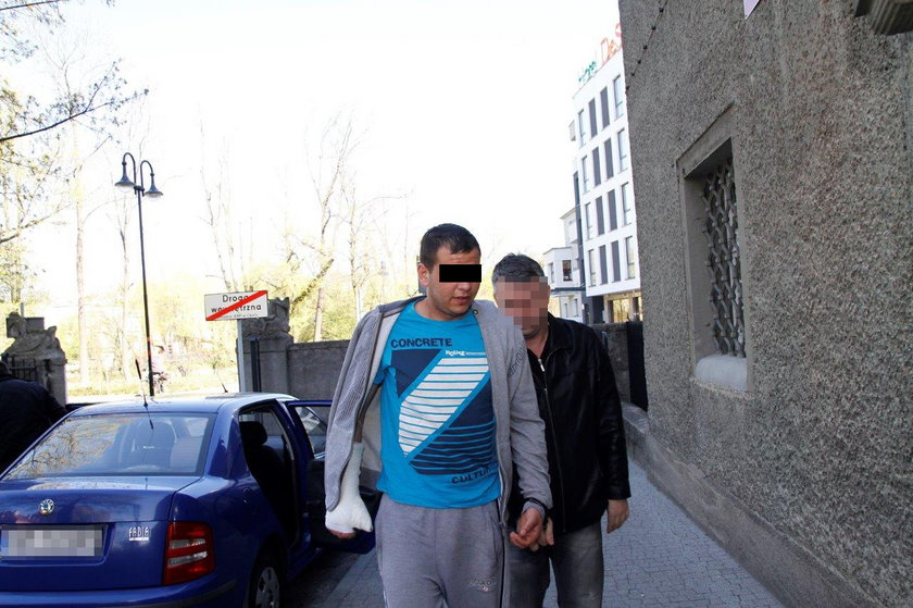 Michał Cz. (21 l.), sprawca makabrycznego wypadku