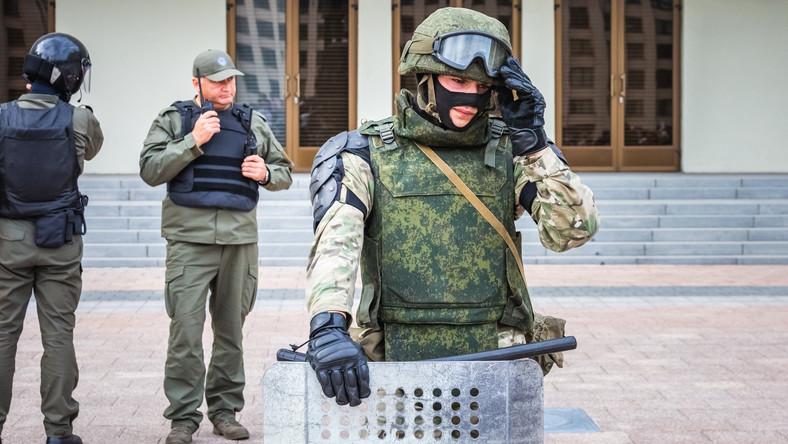 Białoruskie służby