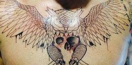 Nowy tatuaż Marcina Wasilewskiego. Jest ogromny!