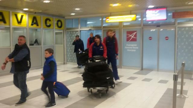 Stigli u Beogad: KK Barselona