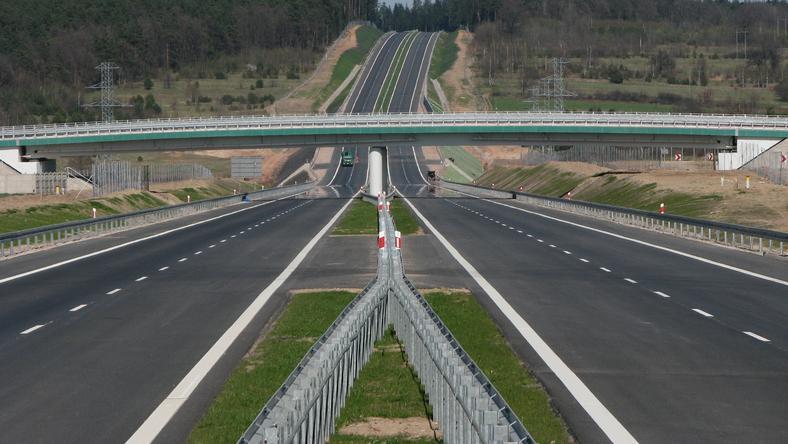 Zmiany na budowie trasy S7 w Łączynie