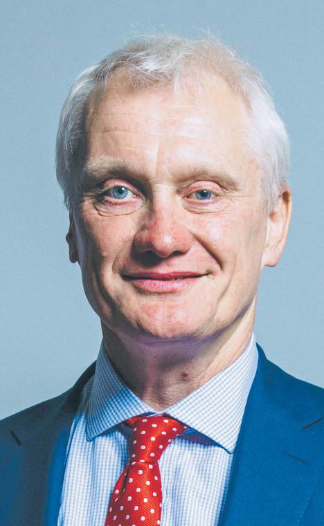 Graham Stuart, brytyjski minister inwestycji w Departamencie Handlu Międzynarodowego