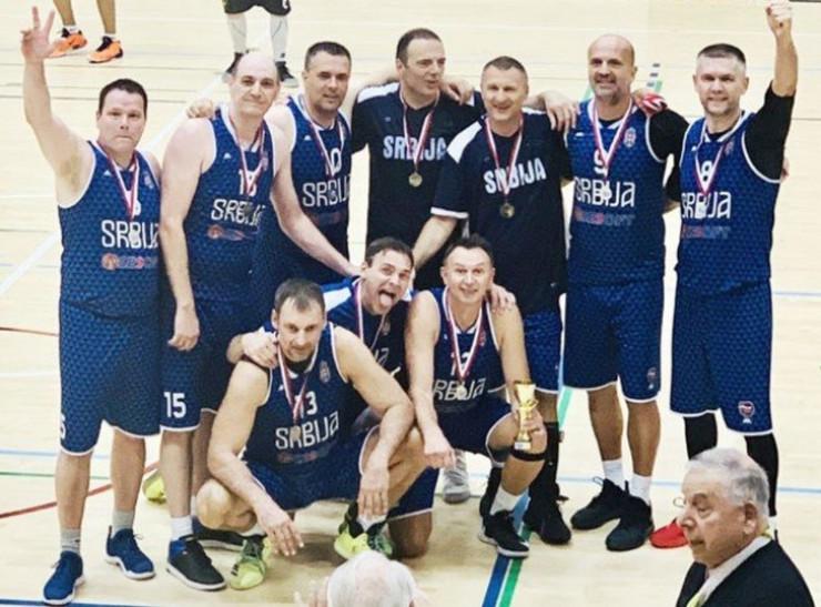 veterani košarka srbija