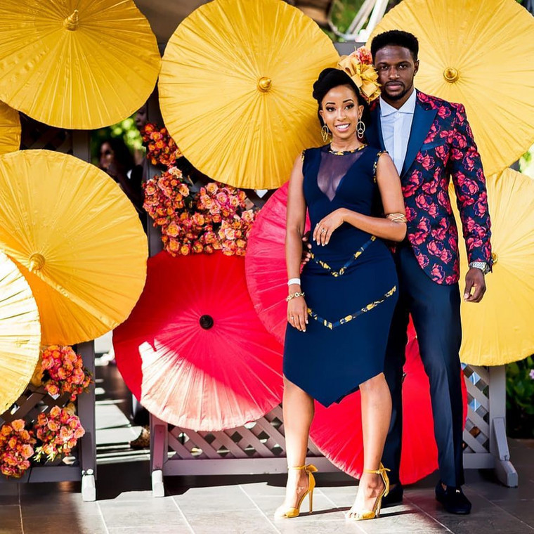 Tewa and Rnaze at Fashion High Tea 2019 where they won 'Best Dressed Couple' (Courtesy)