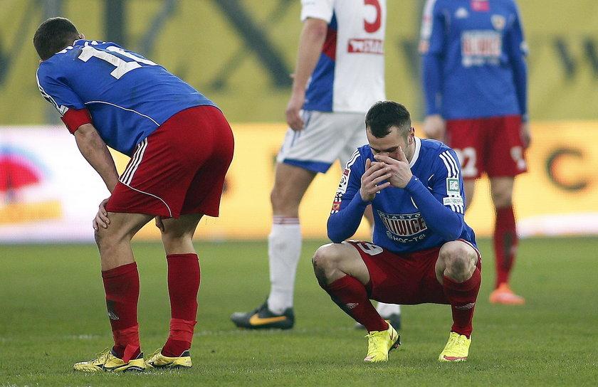 Koszmarny tydzień Piotra Brożka, piłkarza Piasta Gliwice