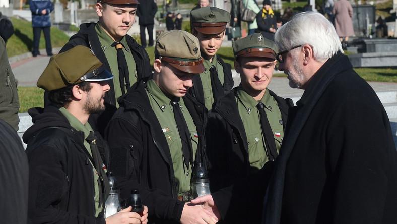 Witold Waszczykowski na Ukrainie