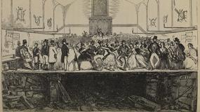 Tańce nad grobami londyńskiej kaplicy