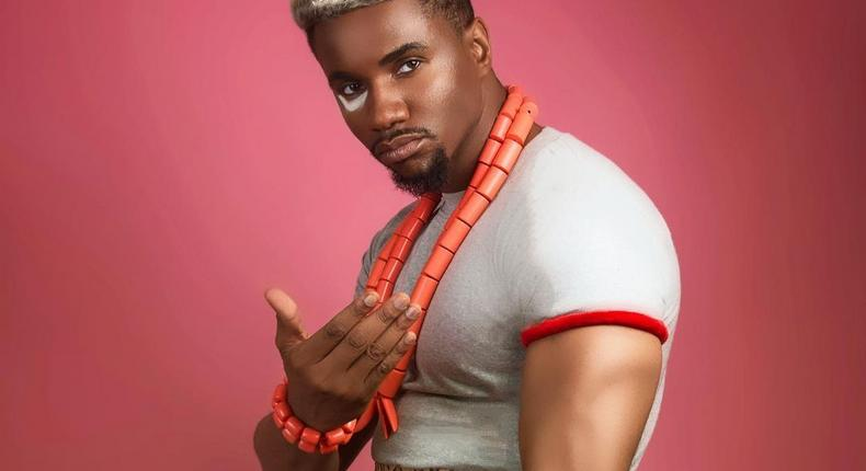Swanky J.K.A gained prominence after he starred in the sequel of Nollywood classic 'Living In Bondage.' [Instagram/IamJidekene]