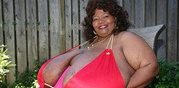 Gigantycznie wielkie piersi. Naturalne!