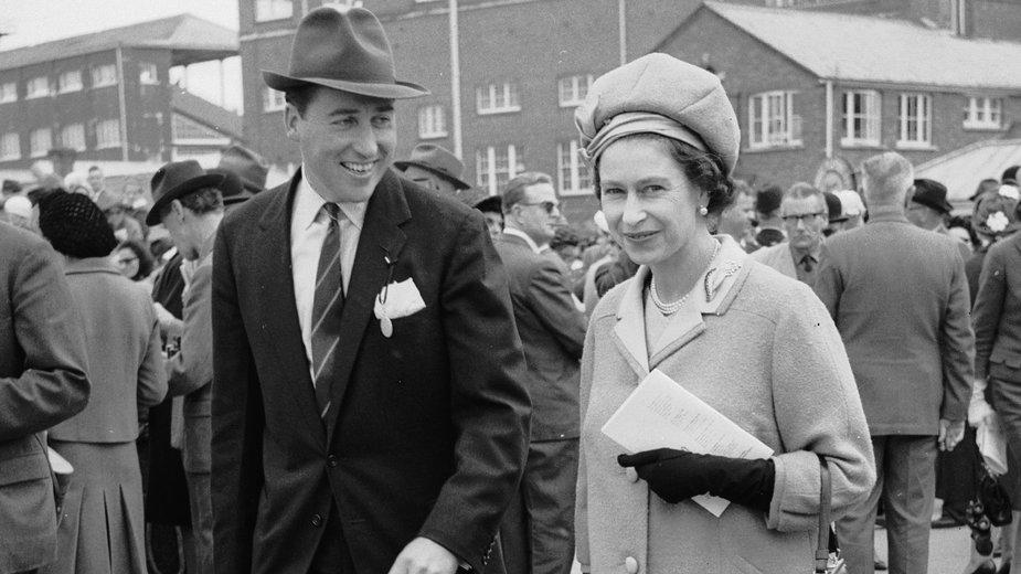 Królowa Elżbieta i lord Porchester, ok. 1965 rok