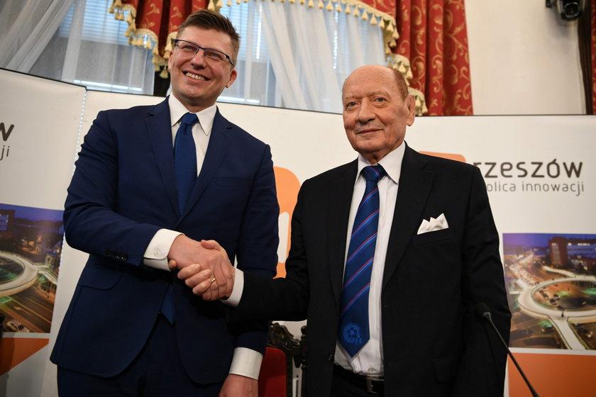 Marcin Warchoł i Tadeusz Ferenc