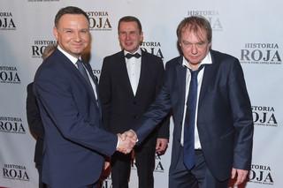 Prezydent na premierze 'Historii Roja': Dziękuję za ten film