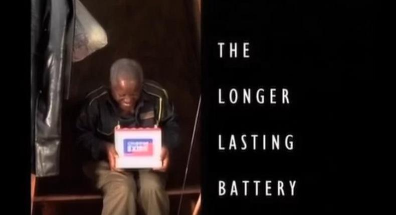 Actor featured on Chloride Exide battery advertisement