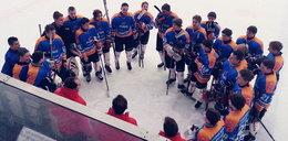 Młodzież walczy o medale na lodzie