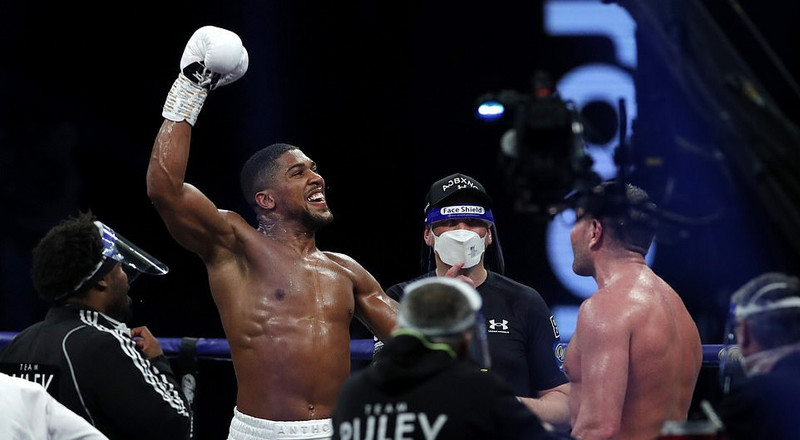 Anthony Joshua retains his heavyweight belts with 9th-round Knockout win against Kubrat Pulev