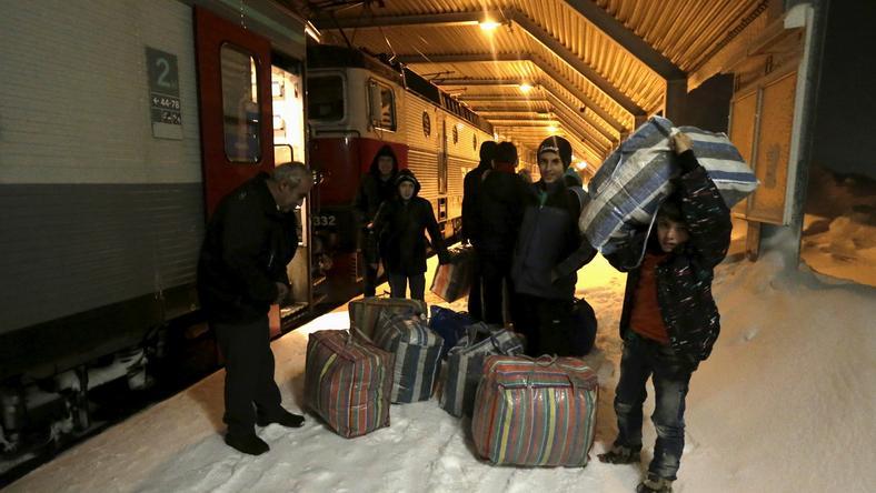 Uchodźcy w Szwecji