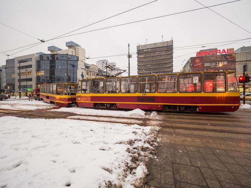 Wykolejenie tramwaju
