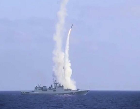 Jedan od prethodnih napada ruske vojske iz Mediterana