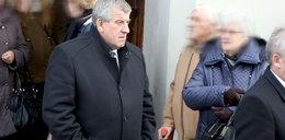 Mąż Szydło na pogrzebie zamordowanej prokurator