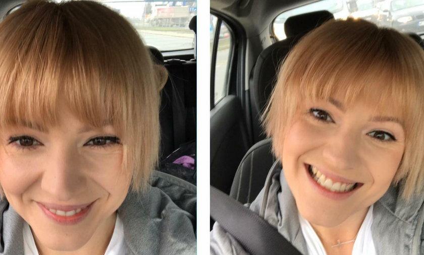 Dorota Szelągowska w nowej fryzurze
