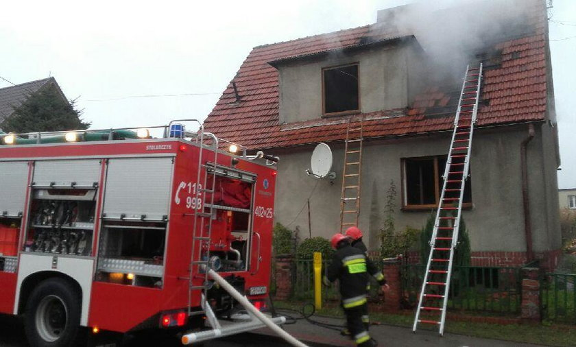 Tragedia w Miastku. W pożarze budynku mieszkalnego zginęły dwie osoby