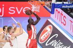 ZVEZDA NEPREPOZNATLJIVA Crveno-beli sve promašili, Monako slavio sa plus 16
