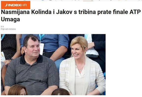 Sa naslovne stranice hrvatskog internet portala Index.hr