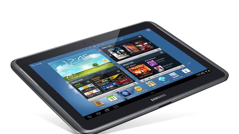 Tablet Samsunga z rysikiem
