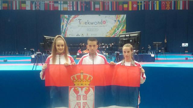 Osvajači medalja na EP u tekvondou za kadete