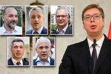 vučić opozicija pokrivalica kombo foto RAS Srbija