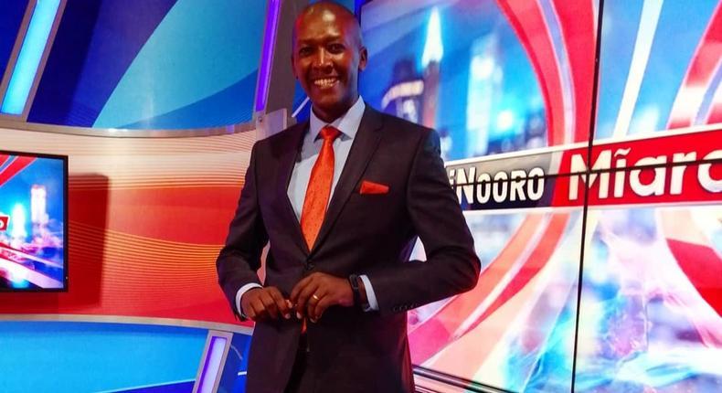 Ex-Inooro TV news anchor Fredrick Muitiriri