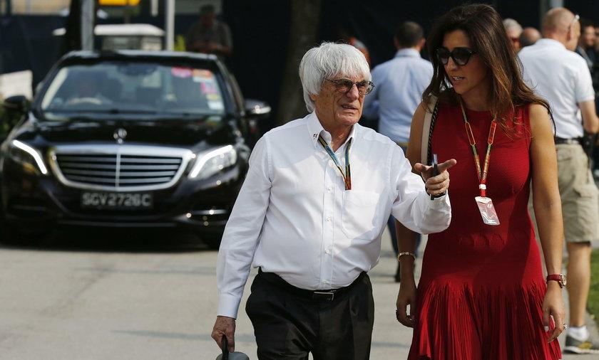 89-letni Bernie Ecclestone ponownie zostanie ojcem