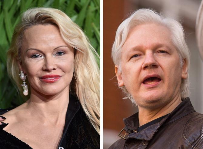 Pamela Anderson i Džulijan Asanž