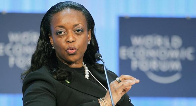 Former minister of Petroleum Resources, Diezani Alison Madueke.