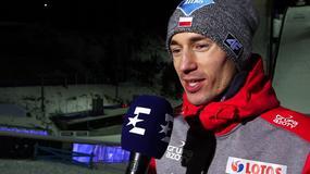 Kamil Stoch: wiedziałem, że nie muszę skoczyć daleko
