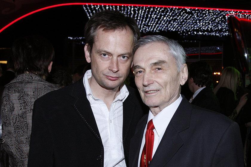 Michał Zabłocki z tatą