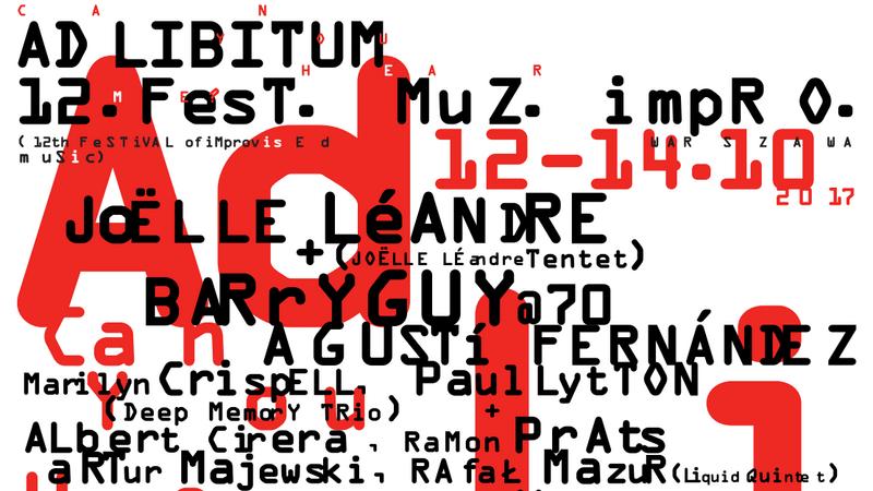 Ad Libitum 2017 - plakat
