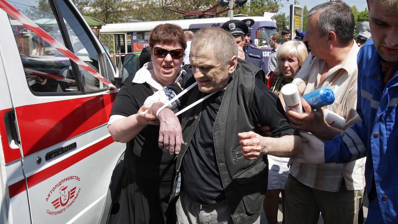 Po serii piątkowych wybuchów na Ukrainie, w wyniku których rannych zostało 29 osób