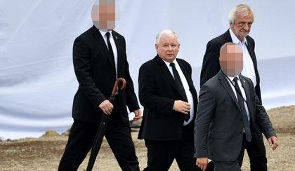 Tyle wydano na ochronę Kaczyńskiego! Chroniło go więcej ludzi niż premiera