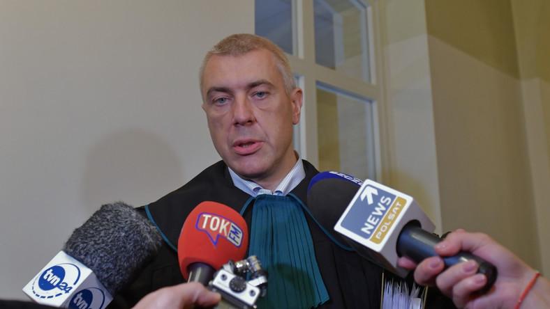 Mecenas Roman Giertych w Sądzie Okręgowym w Szczecinie