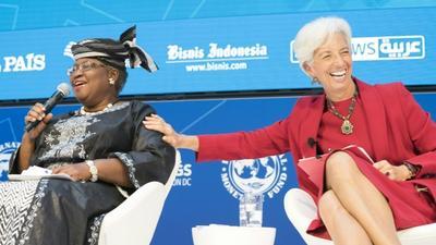 Ex-IMF boss Lagarde says Okonjo-Iweala will shake the WTO
