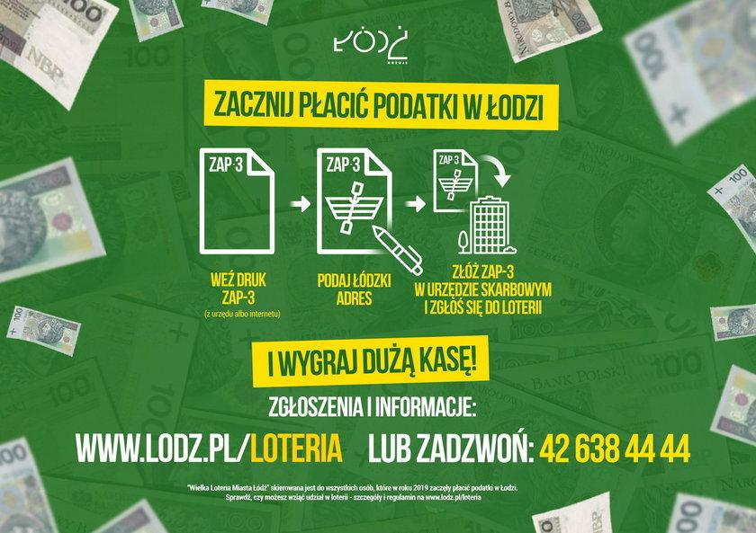 Jak grać w loterią podatkową? - Łódź