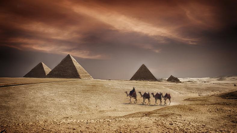 Egipskie piramidy wciąż skrywają wiele tajemnic