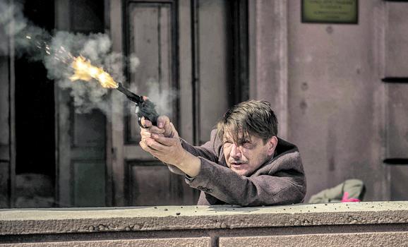 Dragan Bjelogrlić, slika iz serije
