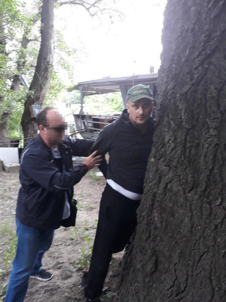Hapšenje Gorana Jankovića foto: Pink.rs