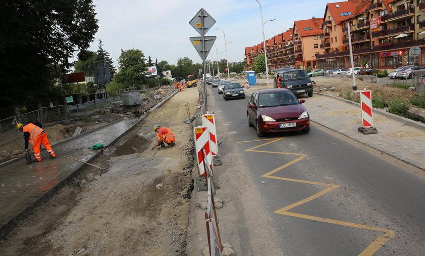 Remont ulicy Zwycięskiej