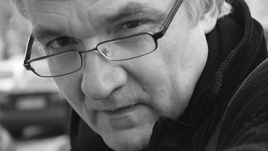 Jerzy Pilch (fot. Danuta Węgiel/Fotonova)
