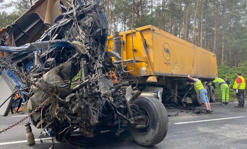 Śmiertelny wypadek na trasie pod Zieloną Górą
