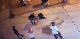 Skatował nieznajomą w centrum miasta. Zachowanie świadków szokuje