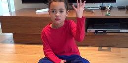 Niesamowite triki małej dziewczynki. VIDEO